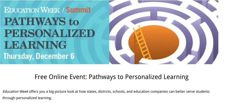 edweek-personalization summit