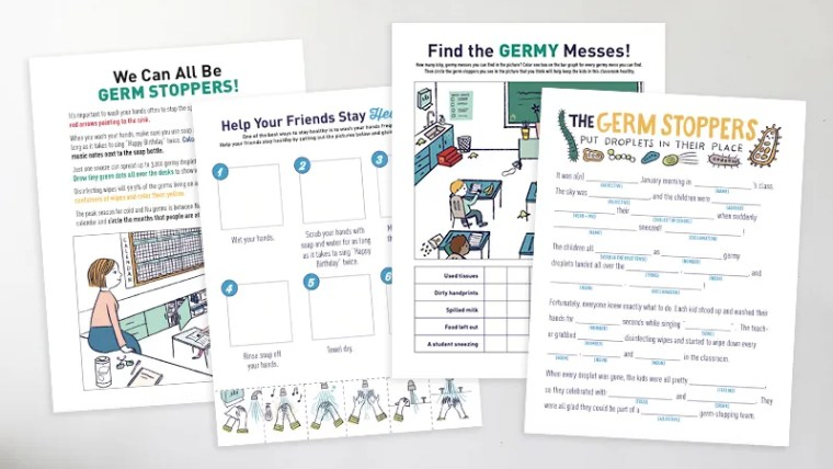 These four handouts are on the back of the poster and are available digitally.