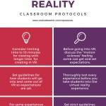 Virtual Reality Protocols for the Classroom