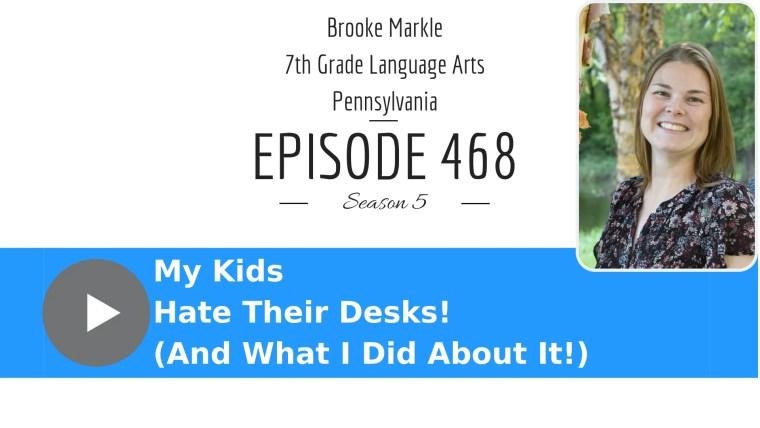 Brooke Markle on flexible seating