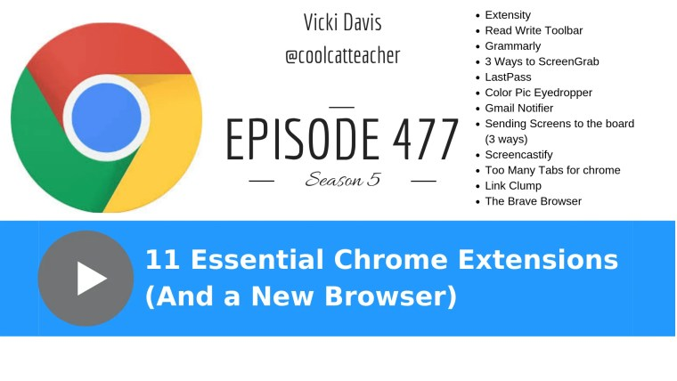 11 chrome extensions for educators