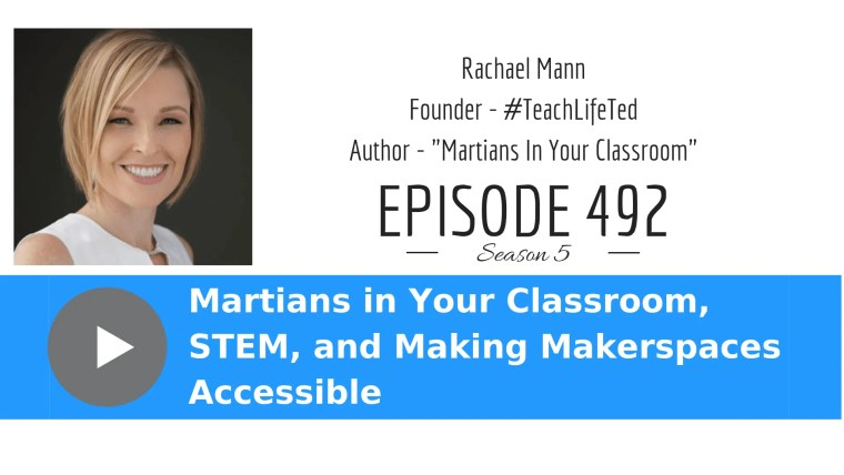 Rachael Mann talks about STEM and our students who will go to Mars