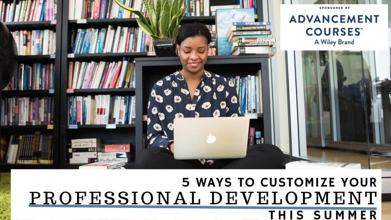 5 ways customize professional development (2)