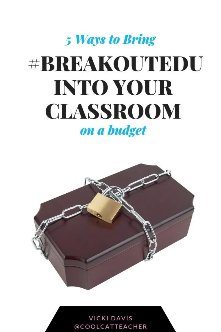 #breakoutedu on a budget