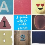A Quick Way to Make Groups
