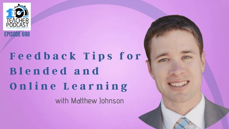 Feedback Tips for Blended and Online Learning