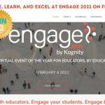 Overcome, Learn, and Excel at Engage 2021 on February4