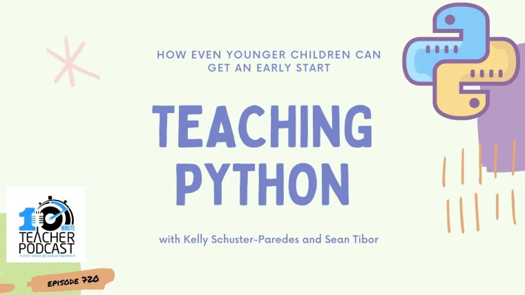 how to teach python to children