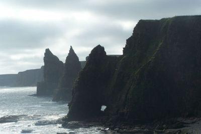 cliffs at John Ogroats
