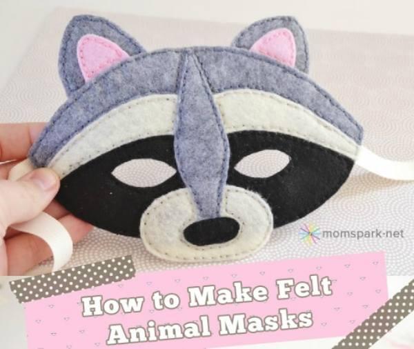 mascaras de feltro