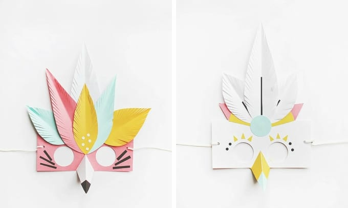30 DIY Paper Mask Design Ideas Cool Crafts