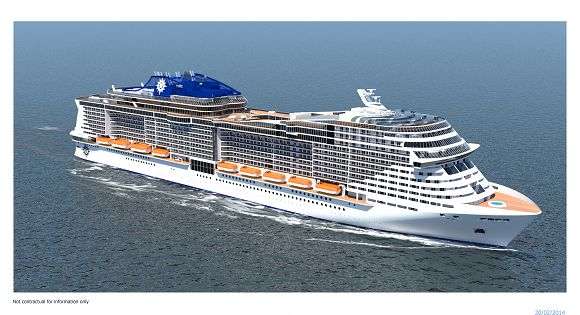 MSC New Ship Rendering