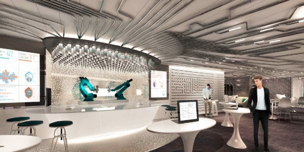 A brand new venue onboard Quantum of the Seas, Bionic Bar, is set to make waves with robots at center stage.  Guests place orders via tablets and then have fun watching robotic bartenders hard at work mixing cocktails