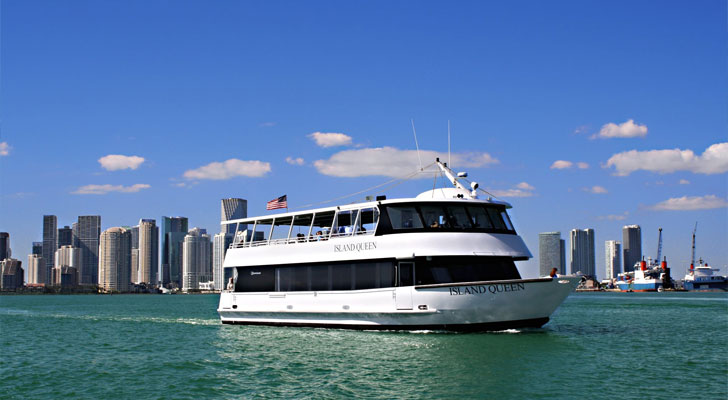 Miami Boat Tour Biscayne Bay Sightseeing Cruise