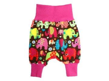 "Baby Pumphose ""Elefantenparty"" – pink -"