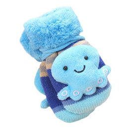 Longra – Baby Fäustlinge – blau