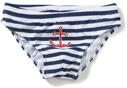 "Playshoes – Baby Jungen Badebekleidung Badehose ""Maritim"" – mehrfarbig"