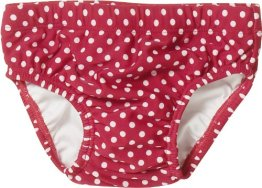 Playshoes – Baby Mädchen Badebekleidung Bade-Windel – rot
