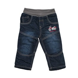 "SALT AND PEPPER – Baby Jungen Jeanshose ""Keep Moving Bike"" – blau"