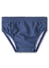 Sanetta – Baby Jungen Badebekleidung Schwimmwindel – blau