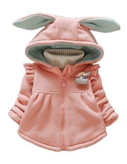 Sevenelks – Baby Mädchen-Frühlings-Jacke – rosa