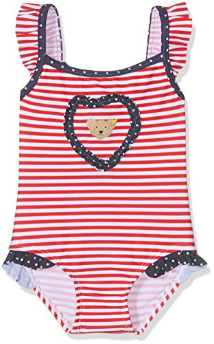 Steiff – Baby Mädchen Badebekleidung Einteiler – rot