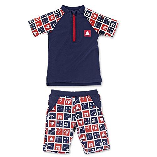 Sterntaler – Baby Jungen Badebekleidung Schwimmanzug – marineblau, 2-teilig