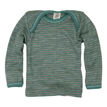 Engel – Baby Unterhemd langarm – hellgrau -