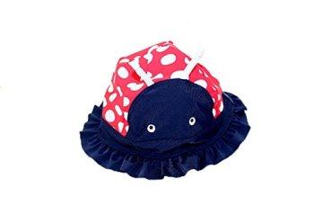 GGBaby – Baby Mädchen Badebekleidung Badeanzug mit Badehut – mehrfarbig -