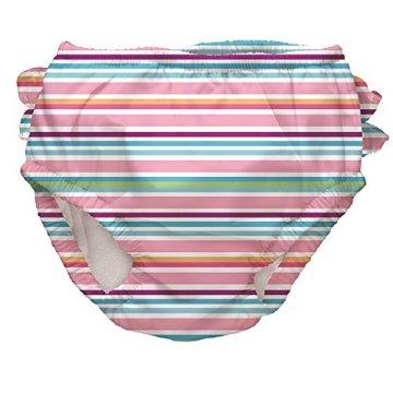 iplay – Baby Mädchen Badebekleidung Bade Windel mit UV-Schutz – mehrfarbig -