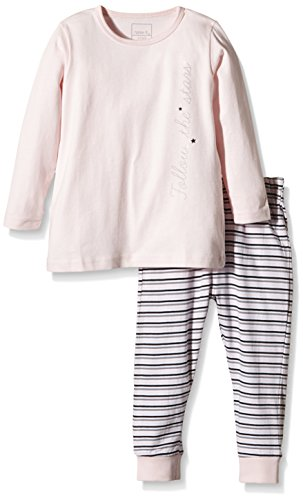 NAME IT- Baby Mädchen Schlafanzug – mehrfarbig, 2-teilig -