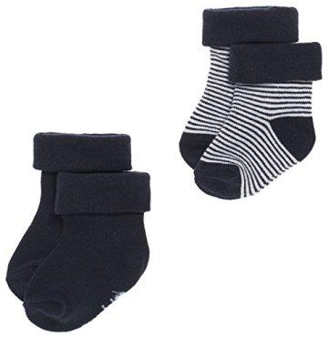 Noppies – Baby Jungen Neugeborene Socken – blau, 2er Pack -