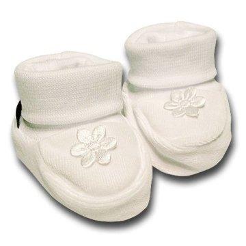 pantau.eu – Baby Erstlingsschuhe 0-3 Monate – weiß -