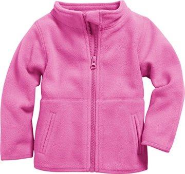 Schnizler – Baby Fleecejacke – rosa -