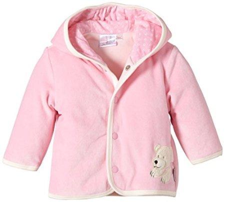Sterntaler –  Baby Mädchen Jacke mit Kapuze – rosa -