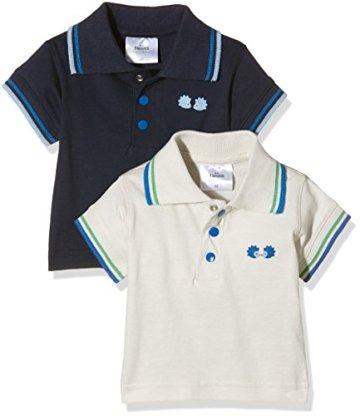 Twins – Baby Jungen Poloshirts – mehrfarbig, 2er Pack -