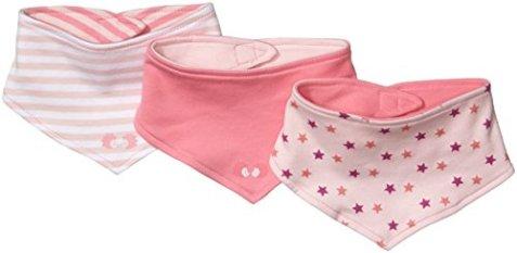 promo code 5893a 7abcb Twins – Baby Mädchen Halstuch – rosa, 3er Pack