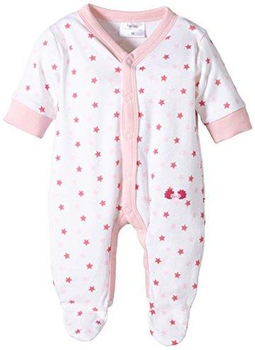 """Twins – Baby Mädchen Schlafstrampler mit """"Sternchen"""" – rosa -"""