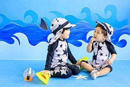 Vaenait Baby – Baby Jungen Badebekleidung Badeanzug – mehrfarbig -