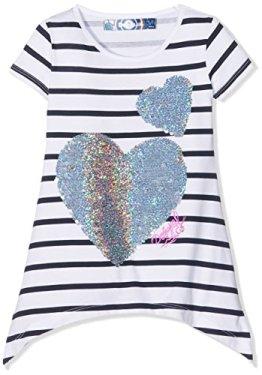 Desigual – Kurzarm T-Shirt – Herz