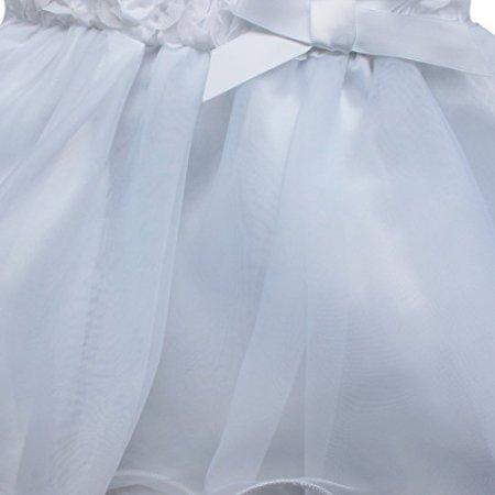 Tiaboug – Festliches Kleid – weiß -