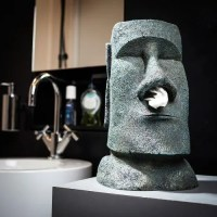 Taschentuchspender Moai Osterinsel Köpfe