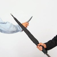 Regenschirm Selbstverteidigung