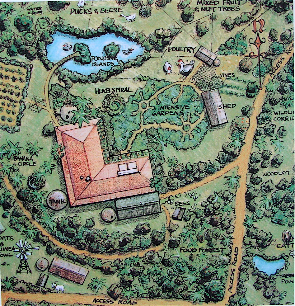 Permaculture, or Working with Nature | Coolearth ... on Backyard Permaculture Design id=47152
