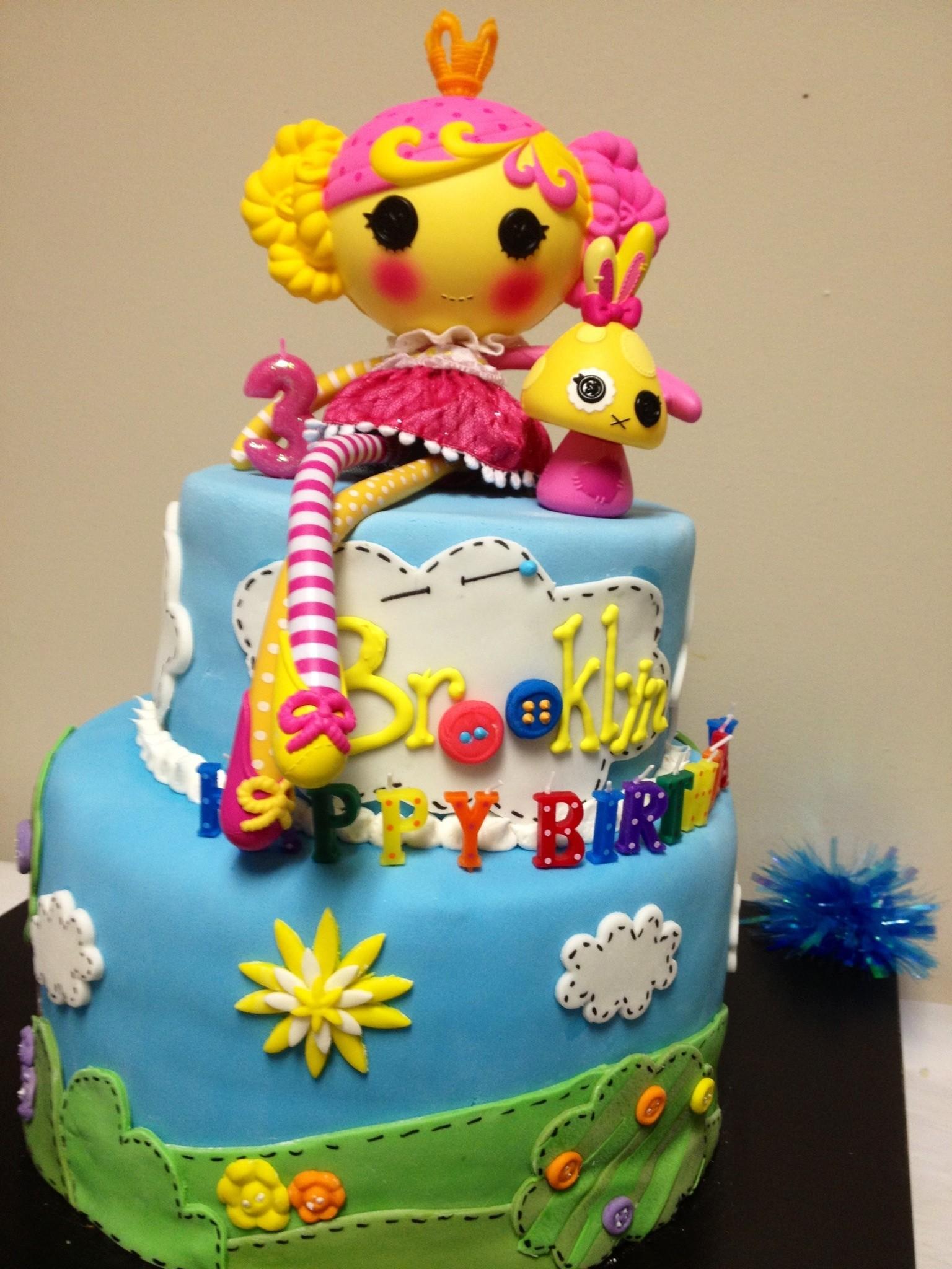 Brooklyn S Cool Lalaloopsy Cake