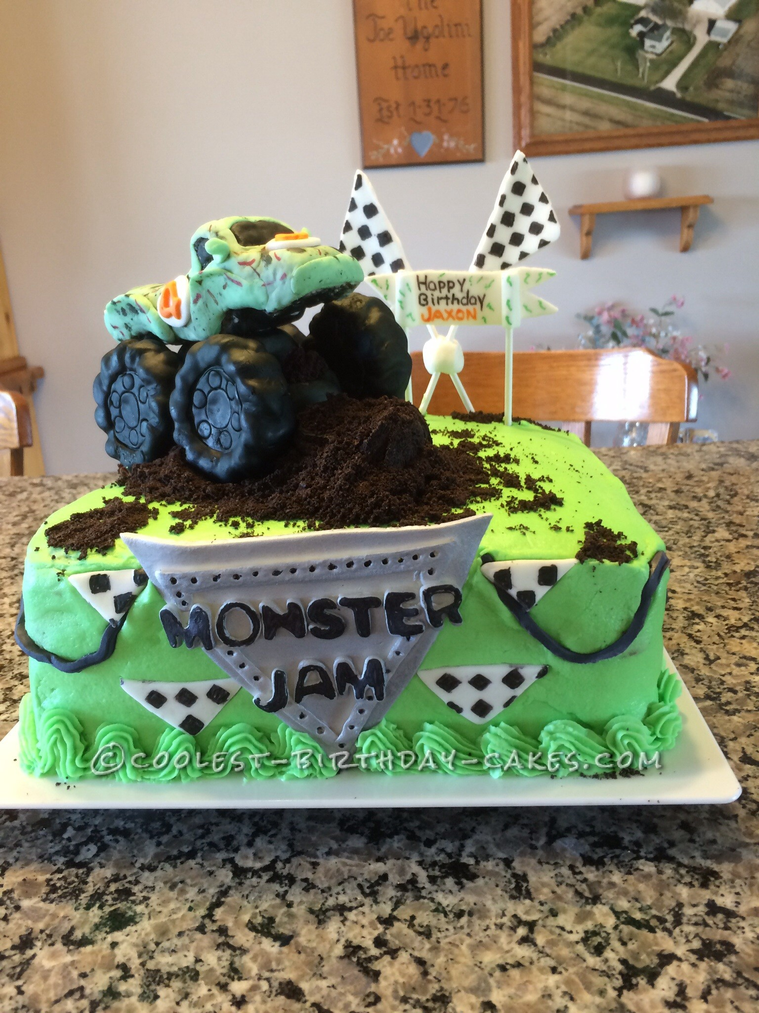 Coolest Monster Truck Cakes