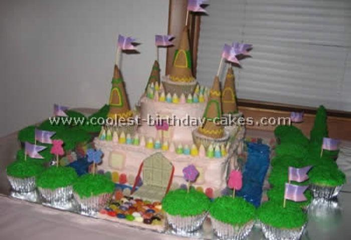 Coolest Disney Princess Castle Cake Photos