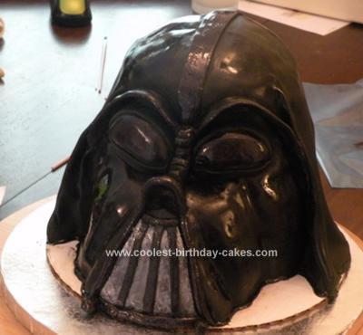 Coolest Darth Vader Birthday Cake 15