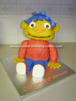 Coolest Sid The Science Kid Cake