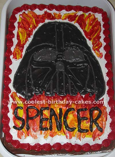 Coolest Darth Vader Picture Cake Gallery And How To Tips